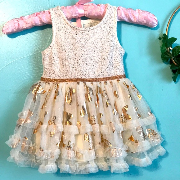 The Children's Place Sparkly Tutu Dress